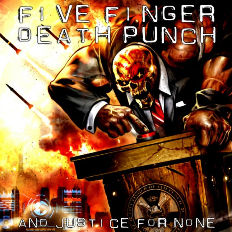 No.18 'And Justice for None' de Five Finger Death Punch (Eleven Seven Music)