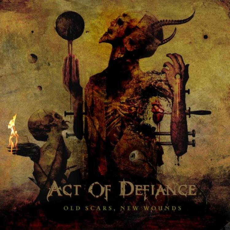 No. 22  'Old Scars, New Wounds' de Act of Defiance (Metal Blade)