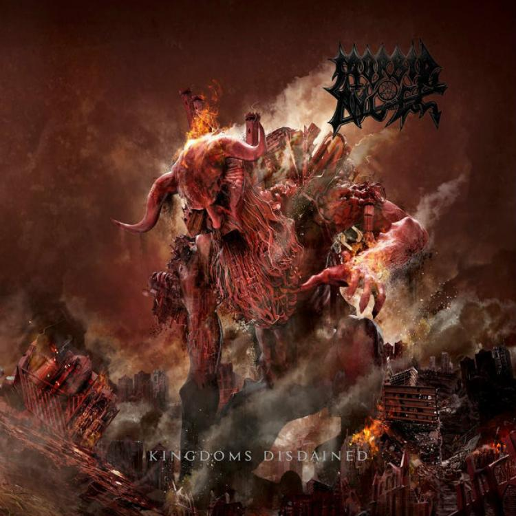 No. 9 'Kingdoms Disdained' de MORBID ANGEL (Silver Lining)