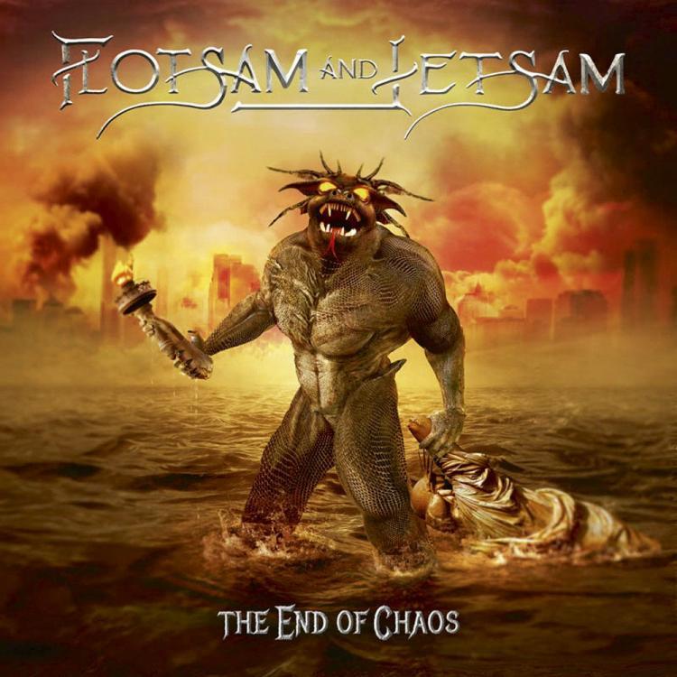 11. FLOTSAM & JETSAM - THE END OF CHAOS