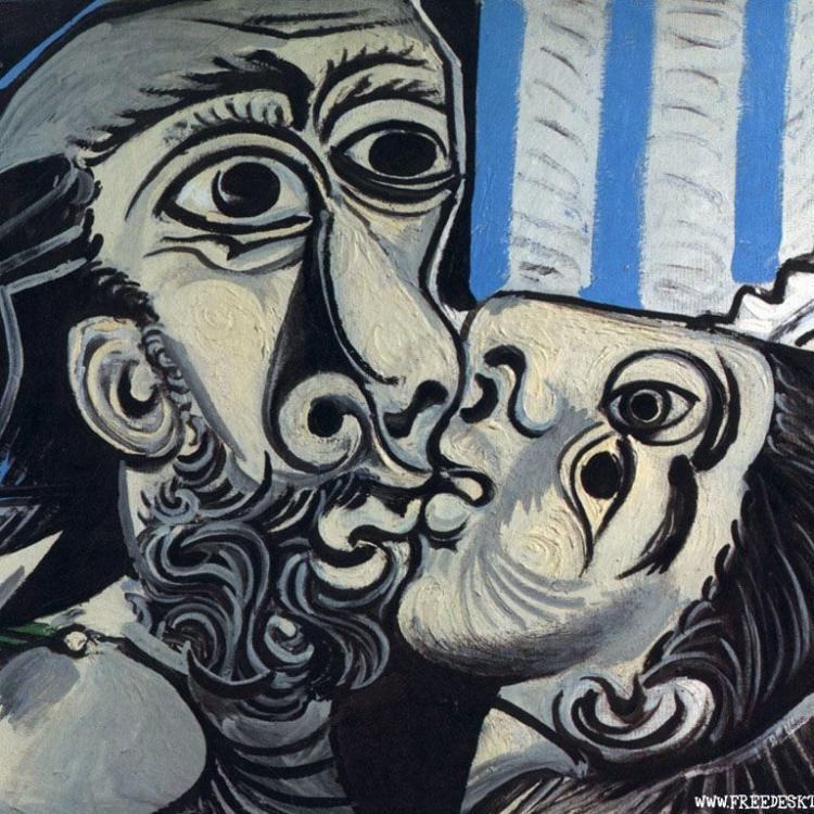 'El beso' - Pablo Piccaso