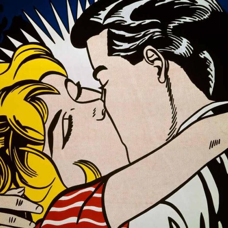 'El beso' -  Roy Lichtenstein