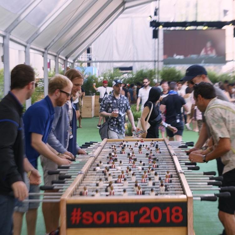 Sónar Barcelona 2018. Foto de John Rojas