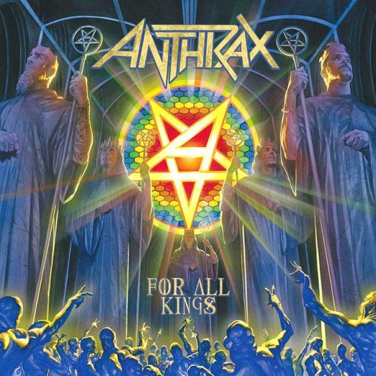 No. 10 'For All Kings' de Anthrax (Megaforce)