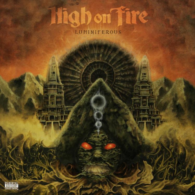 No. 11 'Luminiferous' de High on Fire. Sello: E1 Music