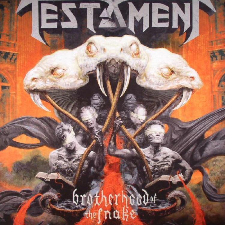 No. 11 'The Brotherhood of the Snake' de Testament (Nuclear Blast)