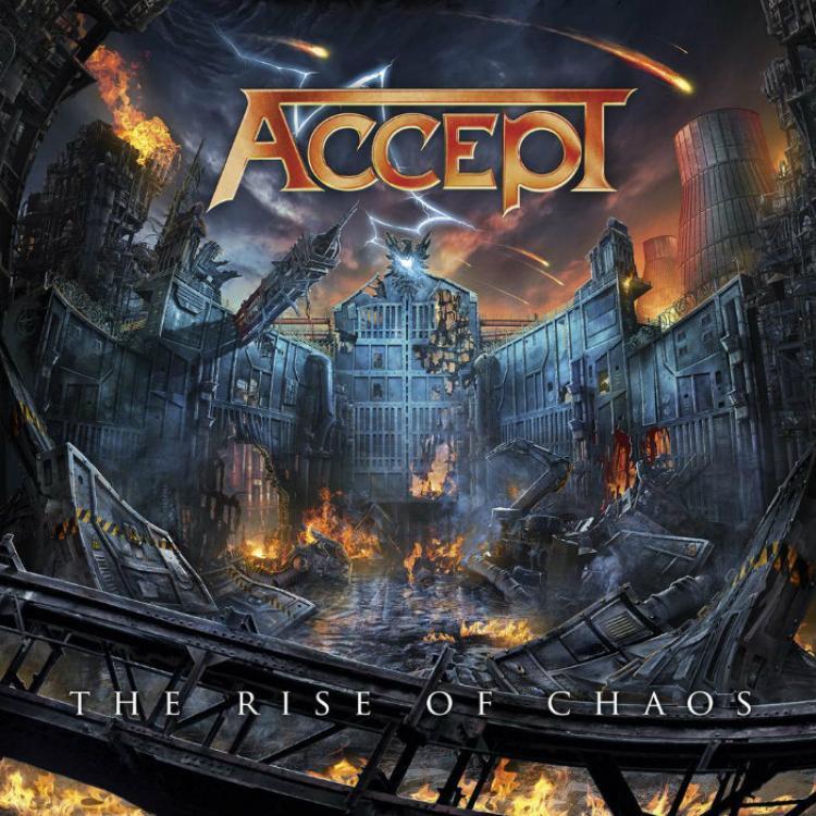 No. 11 'The rise of chaos' de ACCEPT (Nuclear Blast)
