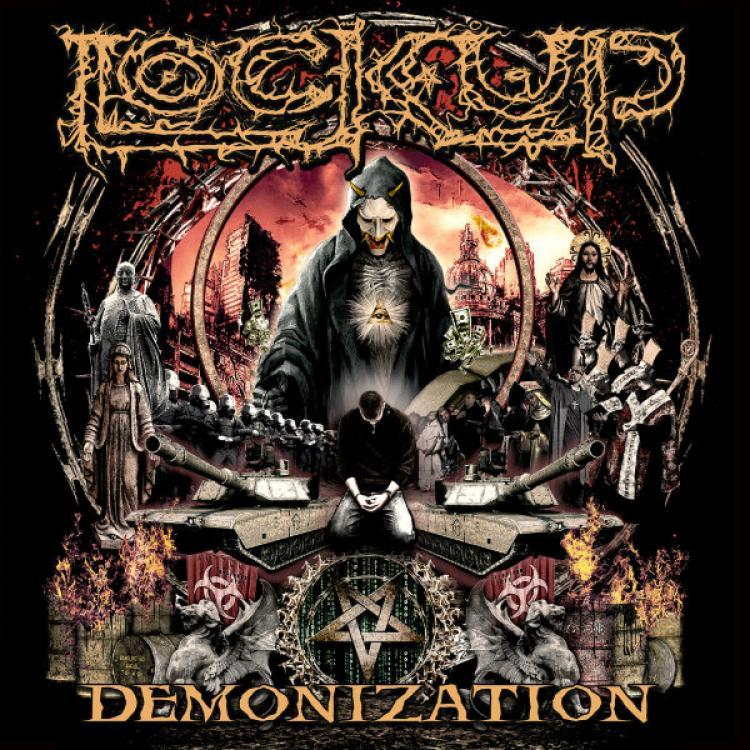 No. 12 'Demonization' de Lock Up (Listenable)