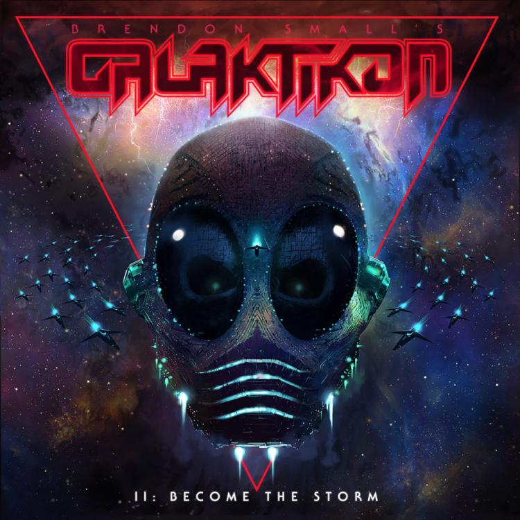 No. 12 'Brendon Small's Galaktikon II: Become the Storm' de Brendon Small (Megaforce +)