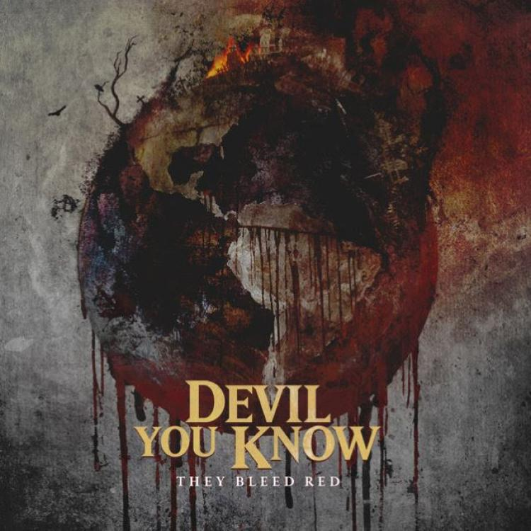 No. 13 'They Bleed Red' de Devil You Know. Sello: Nuclear Blast