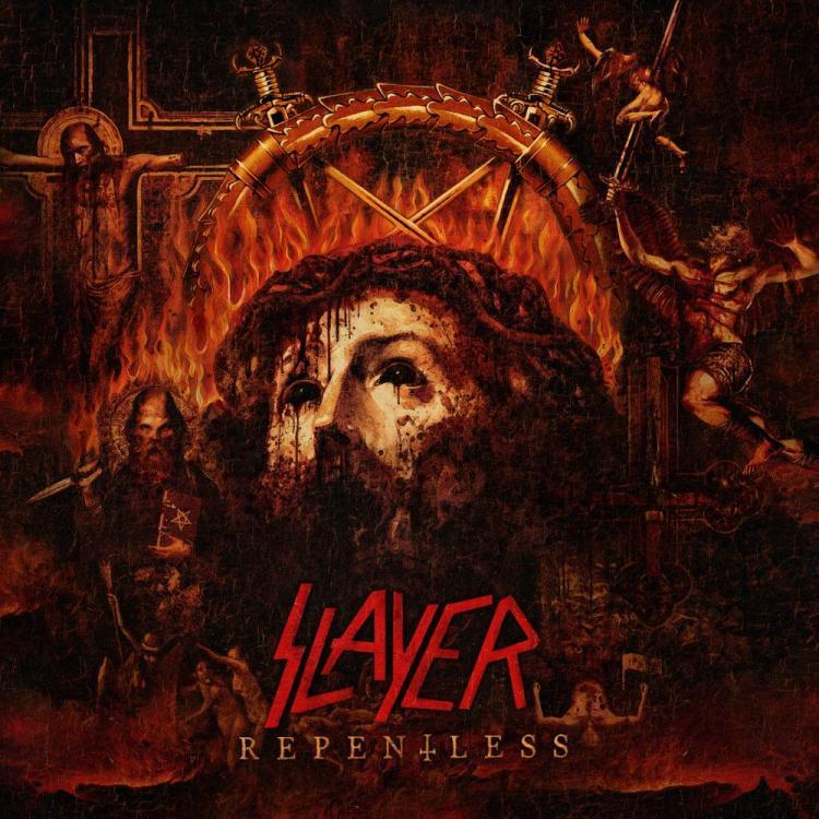 No. 14 'Repentless' de Slayer. Sello: Nuclear Blast