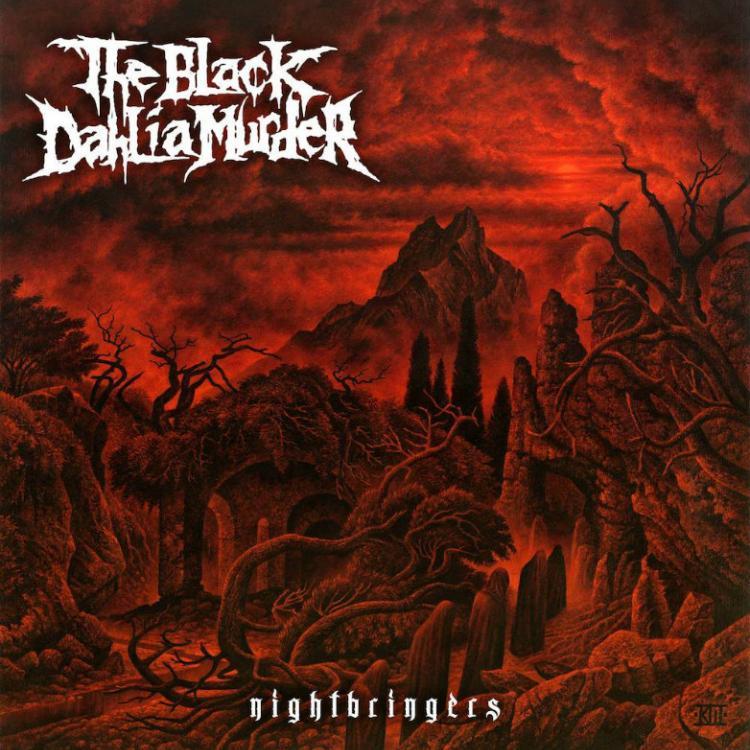 No. 16 'Nightbringers' de The Black Dahlia Murder (Metal Blade)