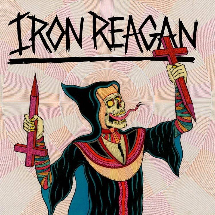 No. 15 'Crossover Ministry' de Iron Reagan (Relapse)