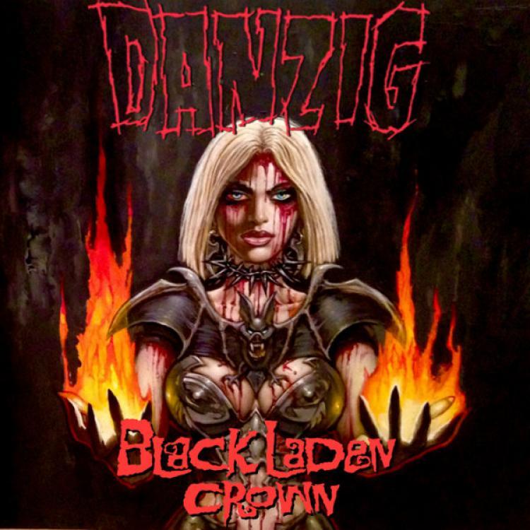 No. 18 'Black Laden Crown' de Danzig (Evilive Records)
