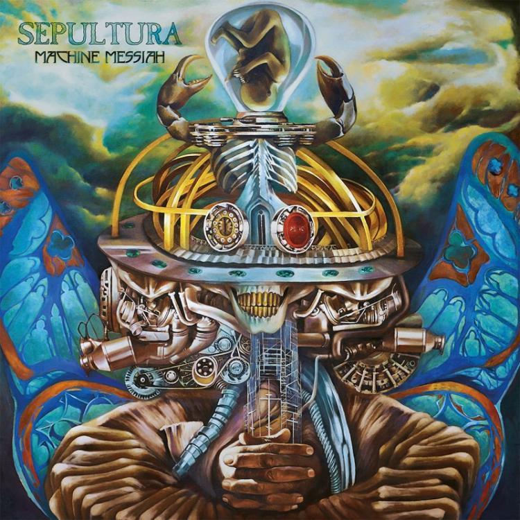 No. 1 'Machine Messiah' de Sepultura (Nuclear Blast)