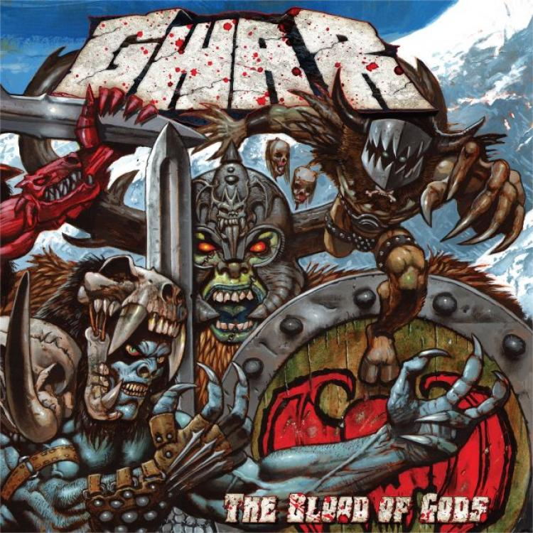 No. 21 'The Blood of Gods' de GWAR (Metal Blade)