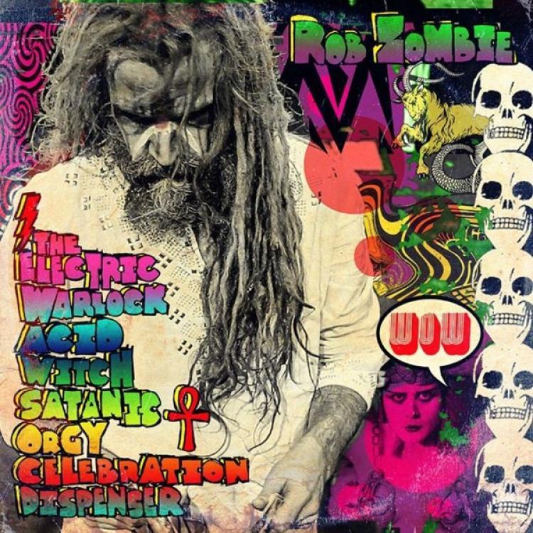 No. 24 'The Electric Warlock Acid Witch Satanic Orgy Celebration Dispenser' de Rob Zombie (Zodiac)