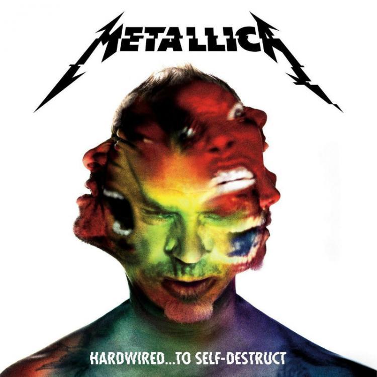 No. 2 'Hardwired... to Self-Destruct' de Metallica (Blackened)