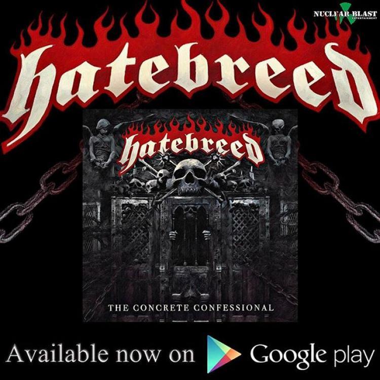No. 2 'The Concrete Confessional' de Hatebreed (Nuclear Blast)