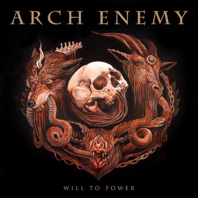 No. 2 'Will To Power' de Arch Enemy (Century Media)