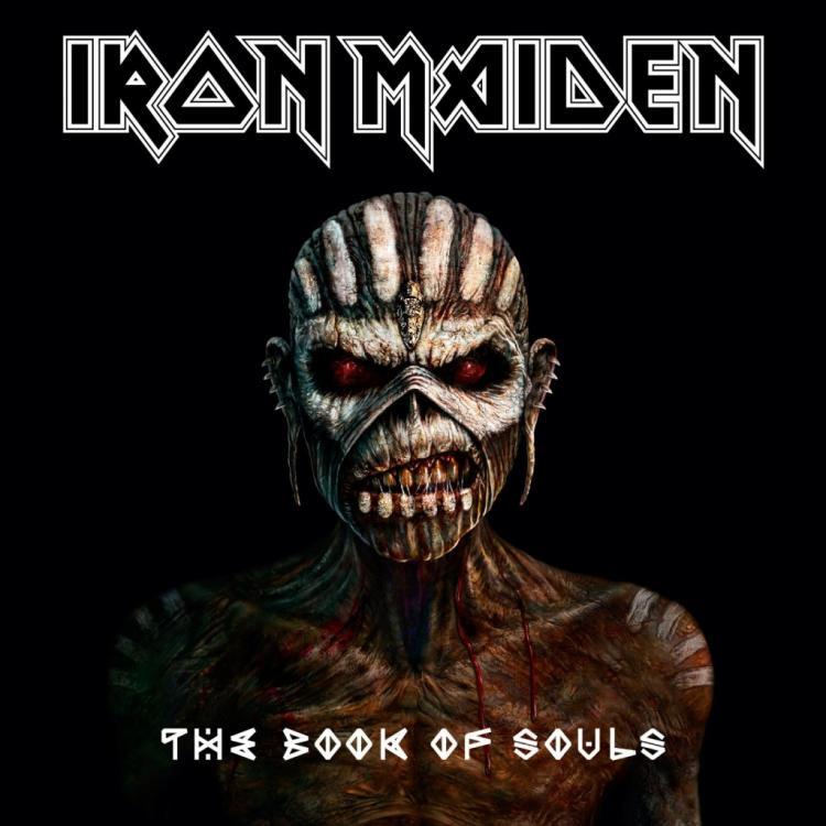 "No. 31 ""The Book Of Souls"" de Iron Maidem. Sello: Parlophone"