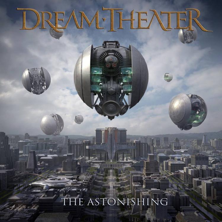 No. 3 'The Astonishing' de Dream Theater (Roadrunner