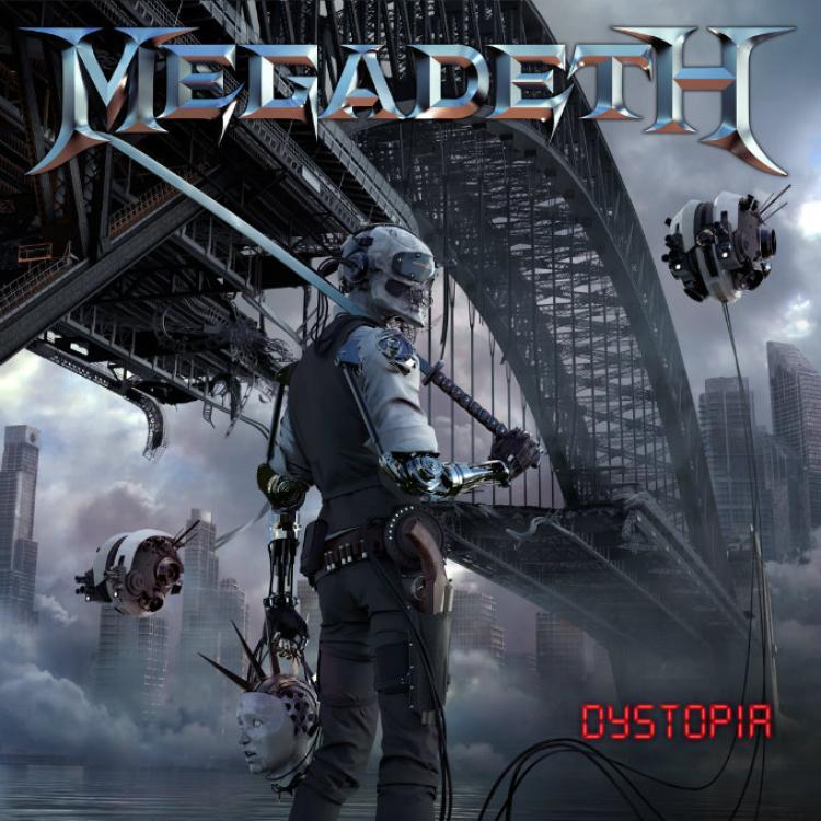 No. 3 'Dystopia' de Megadeth (Tradecraft)