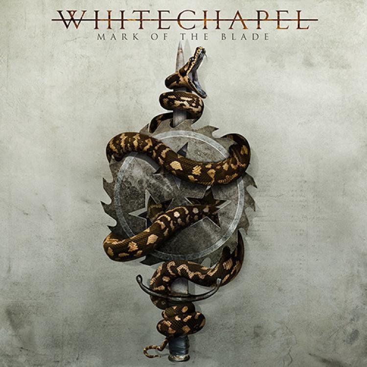No. 3 'Mark of the Blade' de Whitechapel (Metal Blade Records)