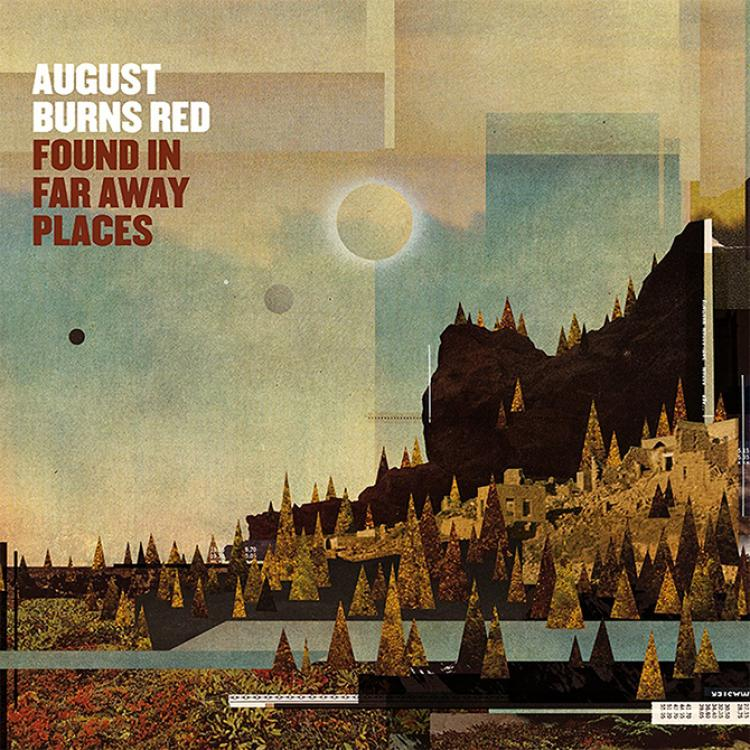 """No. 44 """"Found In Far Away Places"""" de August Burns Red. Sello: Fearless"""