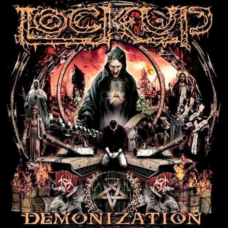 No. 4 'Demonization' de Lock Up (Listenable)