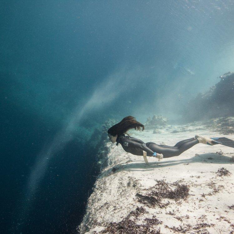 Sofía Gómez Uribe, nuevo récord mundial en inmersión de apnea