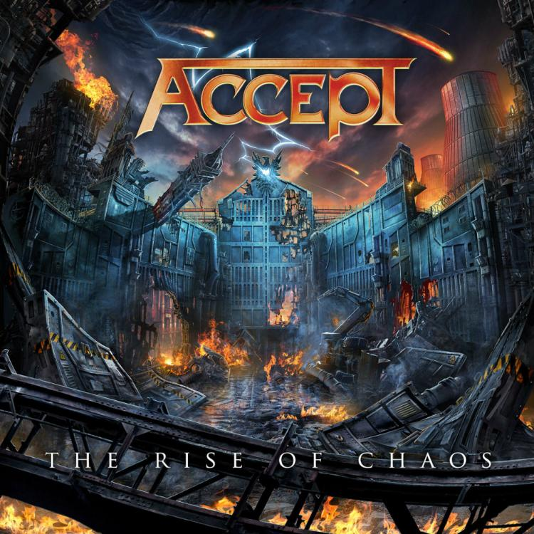 No. 5 'The Rise of Chaos' de Accept (Nuclear Blast)