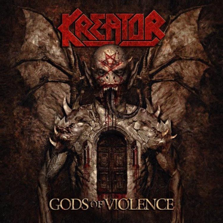 No. 6 'Gods of Violence' de Kreator (Nuclear Blast)