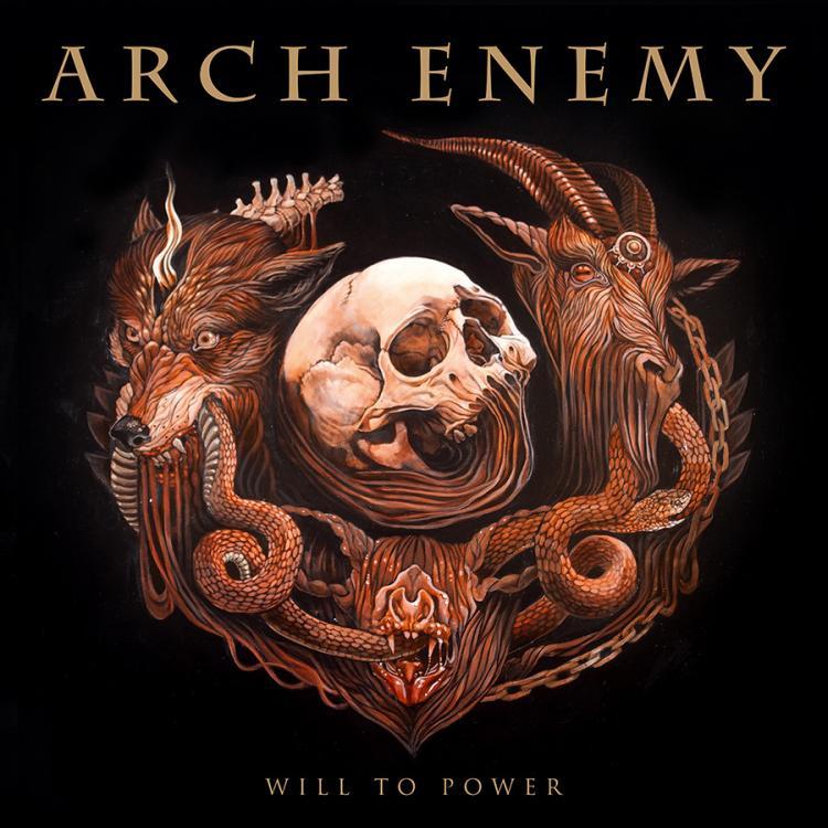 No. 6 'Will to Power' de Arch Enemy (Century Media)