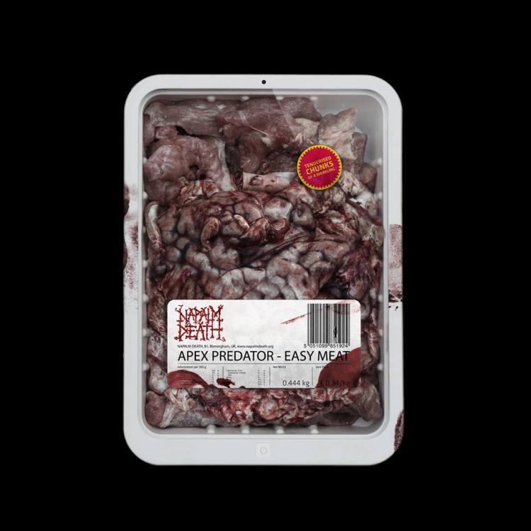 No. 7 'Apex Predator - Easy Meat' de Napalm Death. Sello: Century Media