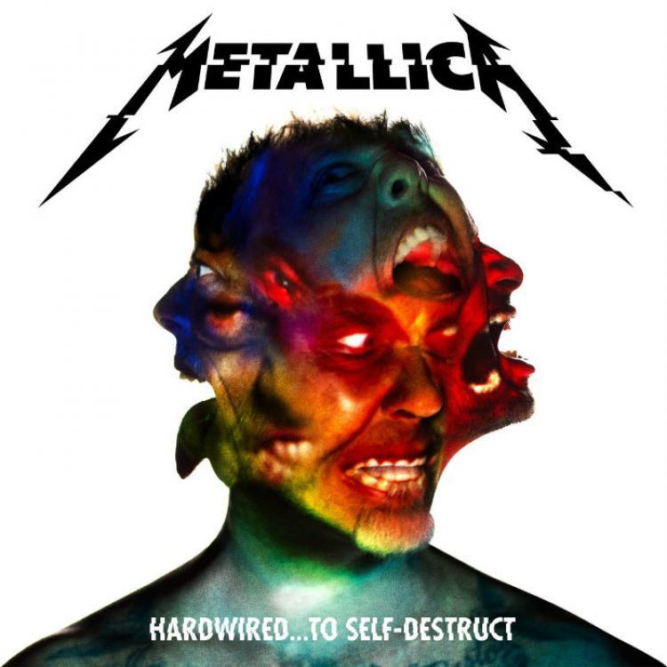 No. 9 'Hardwired... to Self-Destruct' de Metallica ( Blackened Recordings)