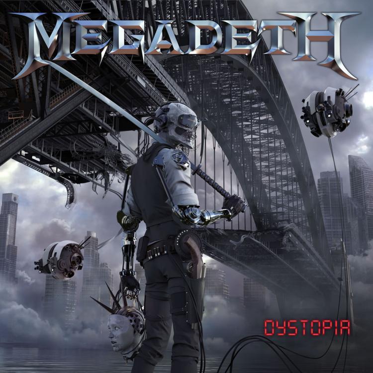 No. 9 'Dystopia' de Megadeth (Tradecraft)