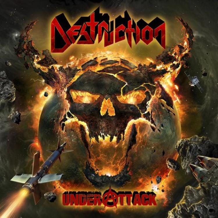 No. 9 'Under Attack' de Destruction (Nuclear Blast)