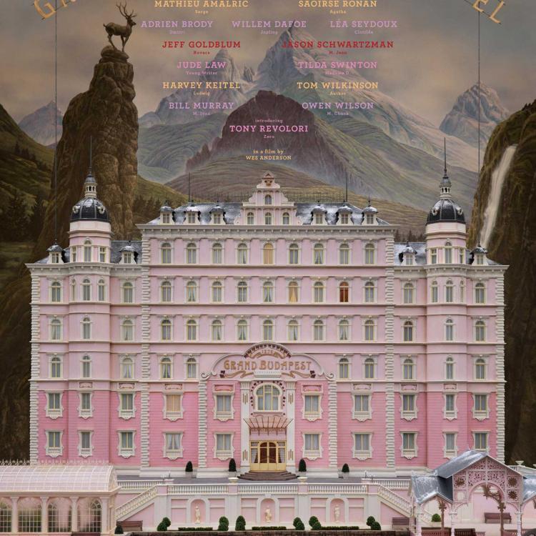 EL GRAN HOTEL BUDAPEST (WES ANDERSON, 2014)
