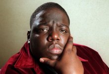 The Notorious B.I.G. en 1997 (Lori Shepler / Los Angeles Times)
