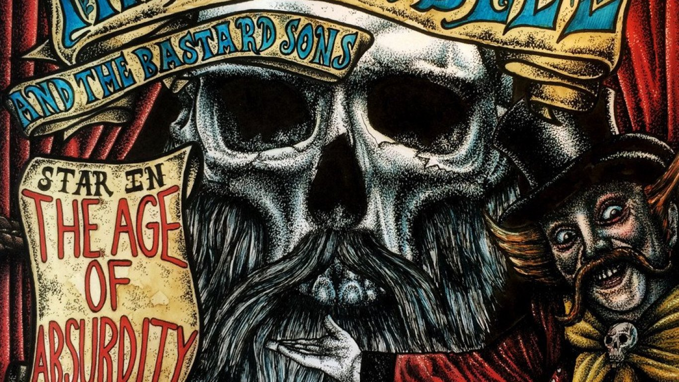 No. 11 'The Age of Absurdity' de Phil Campbell and the Bastard Sons (Nuclear Blast)