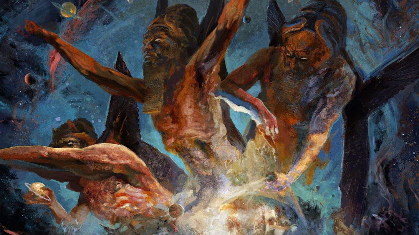 No. 15 'Scourge The Enthroned' de Krisiun (Century Media)