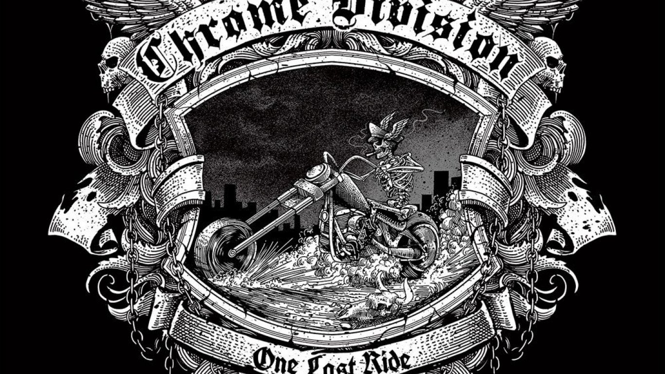 No. 21 'One Last Ride' de Chrome Division (Nuclear Blast)