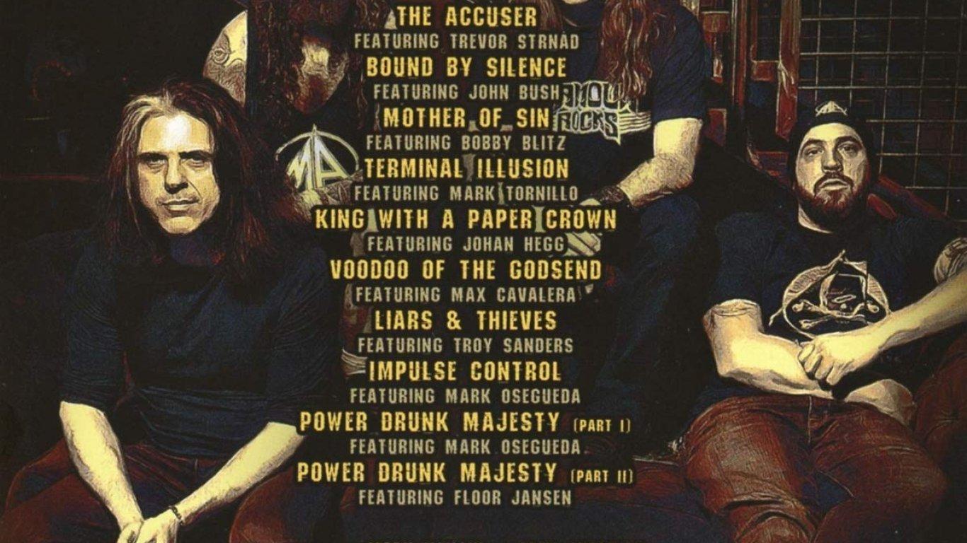 No. 8 'Vol. 2 - Power Drunk Majesty' de Metal Allegiance (Nuclear Blast)