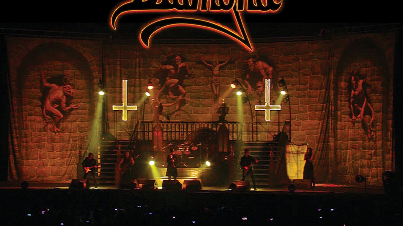 10. KING DIAMOND - SONGS FOR THE DEAD LIVE