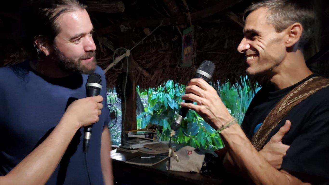 JuanMa de Vetusta Morla en conversación con Pellegrino