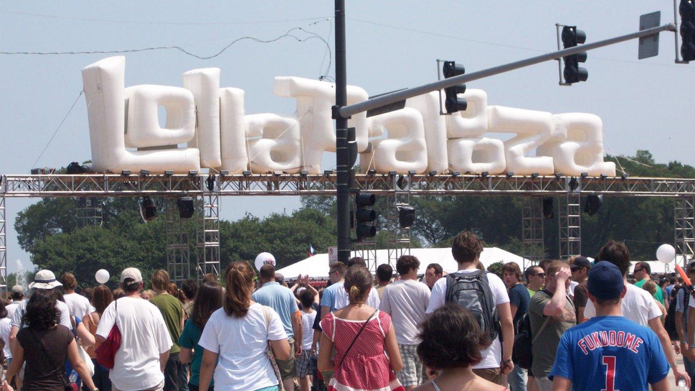 Cubrimiento Lollapalooza Chicago. Agosto de 2008.