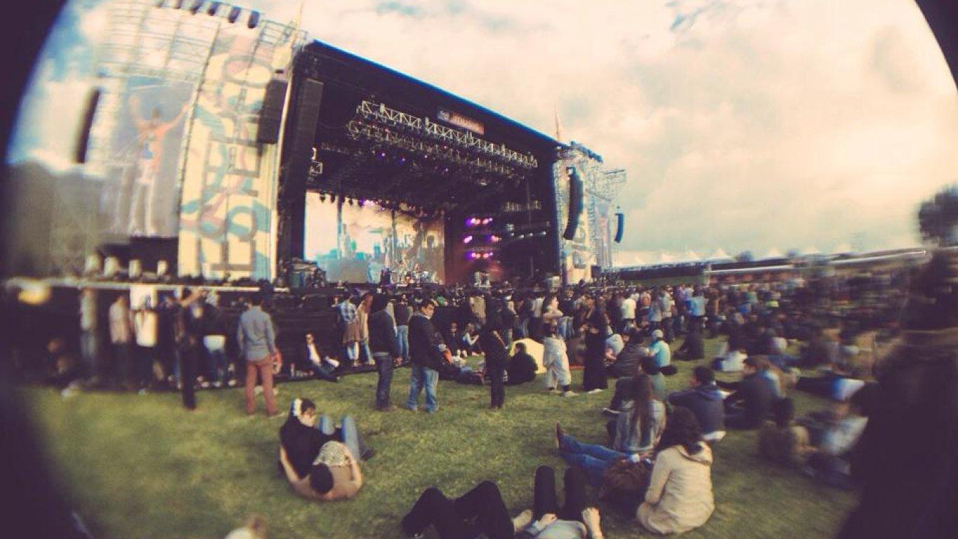 Cubrimiento Festival Estéreo Picnic 2015.