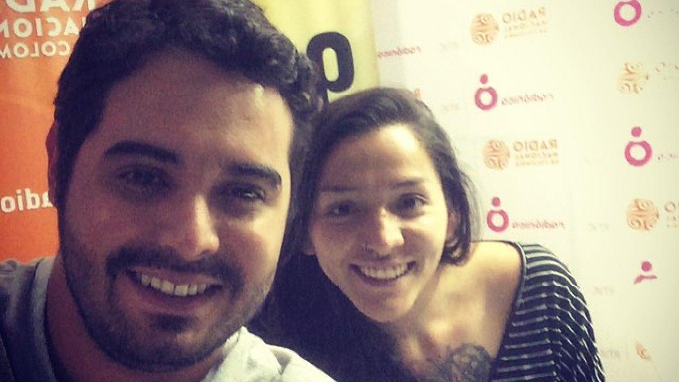 Diego Londoño y Diana Bejarano 'Chu', editora web. Medellín. 2015.