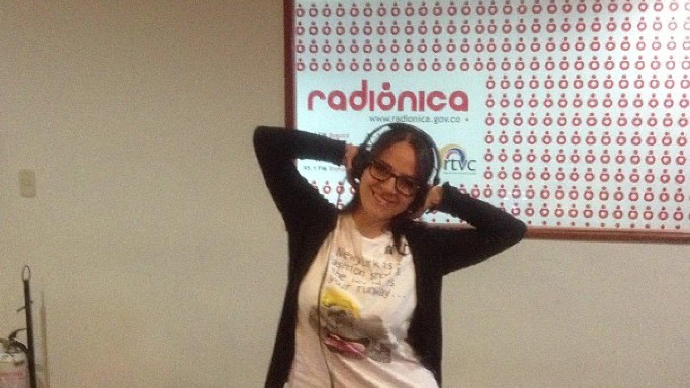 Dahiana en la #FranjaElectrónicaRadiónica